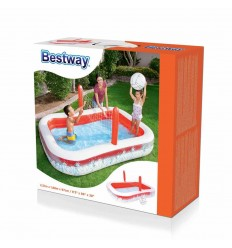 Bestway Inflatable Inflate-A-Volley Pool 2.54m x 1.68m x 97cm