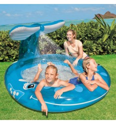 """Intex Whale Spray Pool, 82"""" X 62"""" X 39"""", for Ages 2+"""