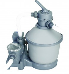 1000 gal Flow Clear Sand Filter Pump