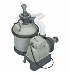 Intex Krystal Clear Sand Filter and Pump 1,200gal/hr