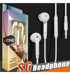 STEREO wired EARPHONES With MicROPHONE & Volume Control